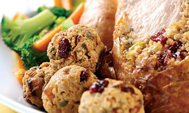 Oaty Apple & Cranberry Stuffing