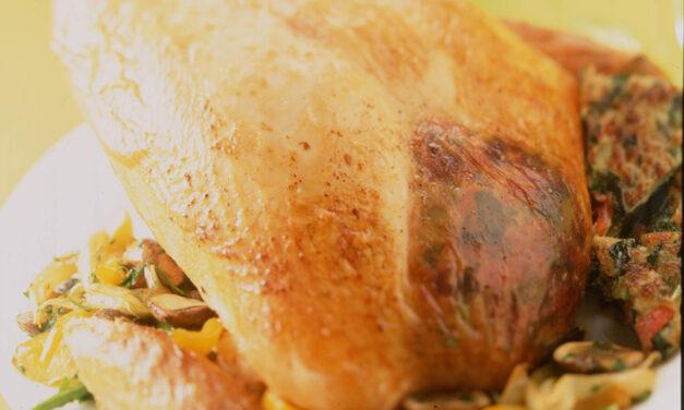 Brandied British Turkey Crown Roast