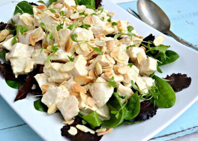Quick Coronation Turkey Salad