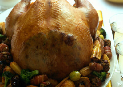Classic Roast British Turkey with all the Trimmings