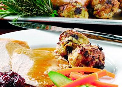 Chestnut Stuffed British Turkey