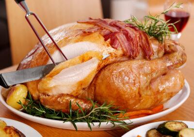 Traditional Roast British Turkey