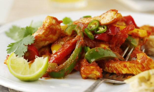 Easy Tasty Turkey Jalfrezi