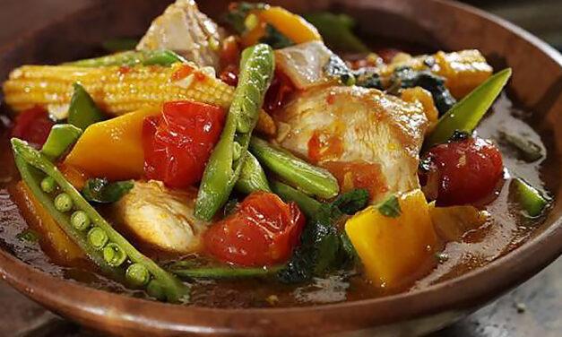 Leftover Moroccan Turkey & Harissa Stew