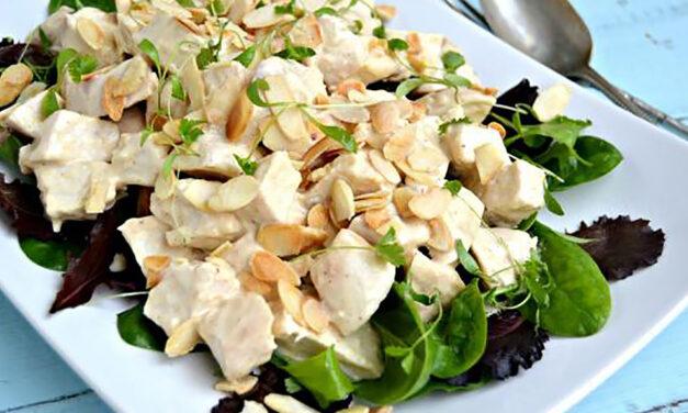 Quick Coronation Turkey Salad