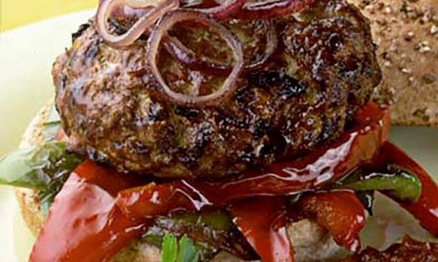 Cajun British Turkey Burgers