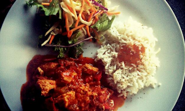 Healthy Turkey Tikka Masala