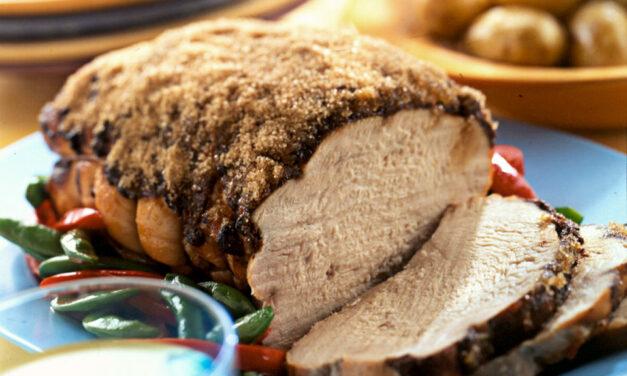 Roast Gingered British Turkey Breast Joint