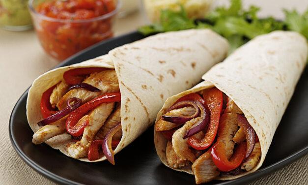 Annabel Croft's Spiced Turkey Tortillas