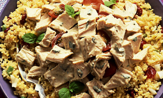 Spiced British Turkey with a Warm Couscous Salad