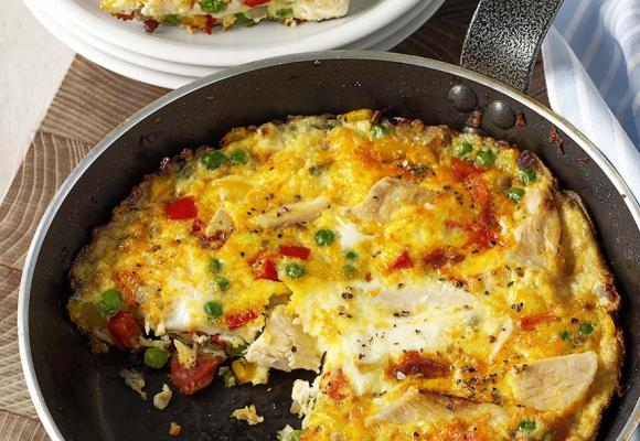 Turkey & Chorizo Frittata