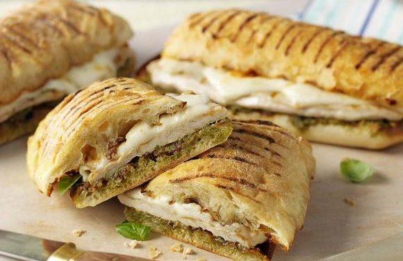 Turkey Mozzarella Melt Panini