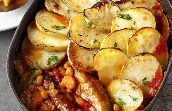 Turkey Sausage Hotpot