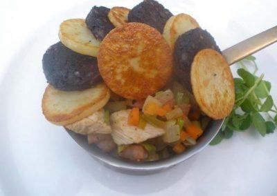 Turkey, Ham Hock & Black Pudding Hot Pot