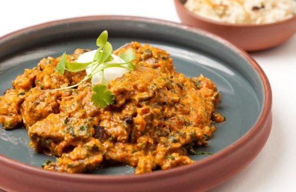 Vivek Singh's Jungle Style Curry of Turkey with Fresh Fenugreek