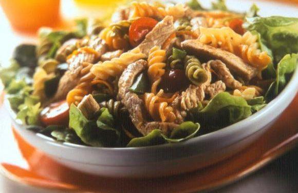 Warm Leftover British Turkey & Pasta Salad