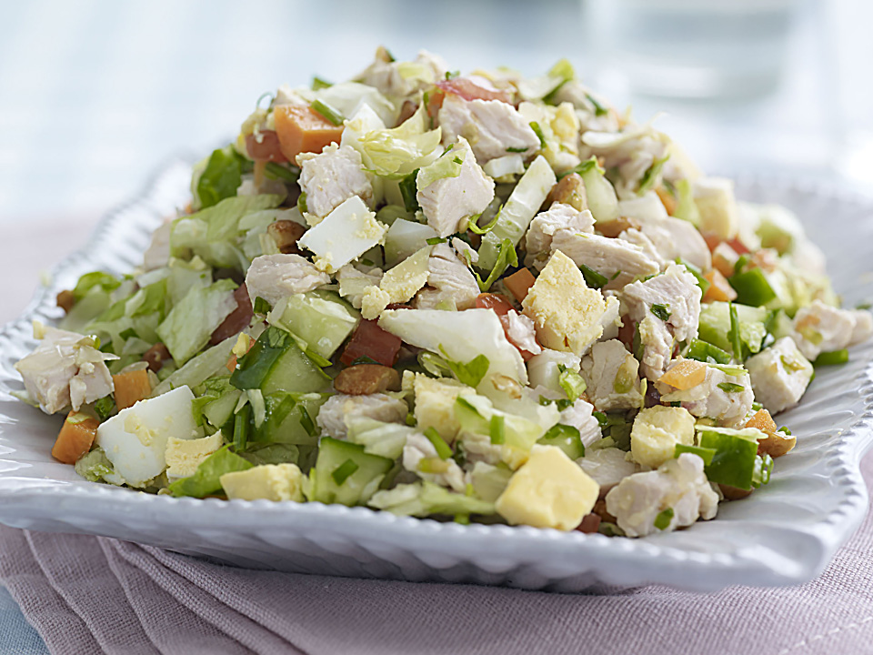 American Style Chopped Turkey Salad