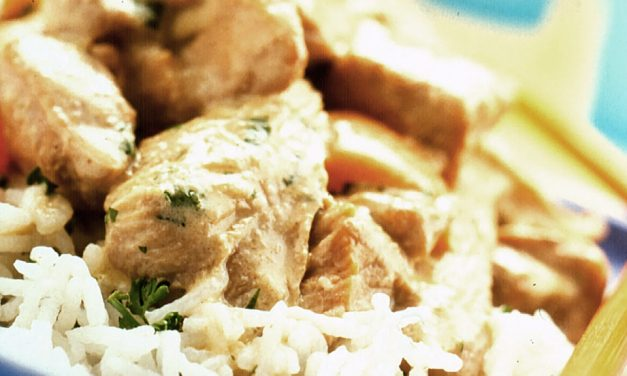 Thai Green Turkey Curry