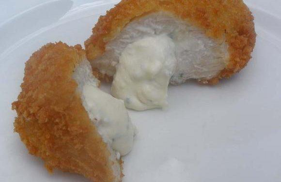 Smoked Garlic, Turkey & Cream Cheese Kiev