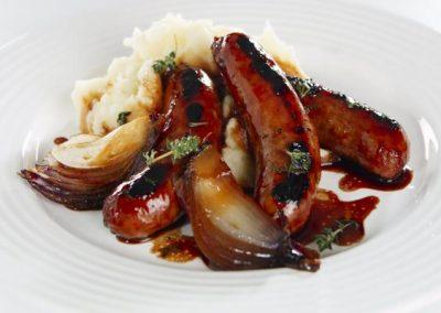 Soy & Honey Glazed Turkey Sausages