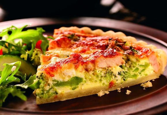 British Turkey & Broccoli Quiche