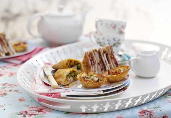 British Turkey Afternoon Tea