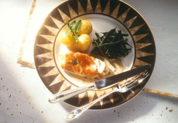 British Turkey Escalopes Wrapped in Parma Ham