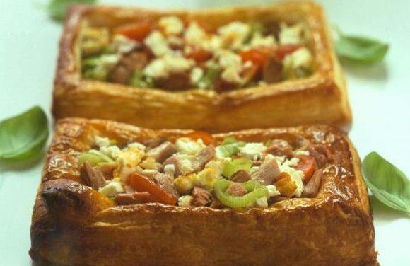 British Turkey Leek & Pesto Tart