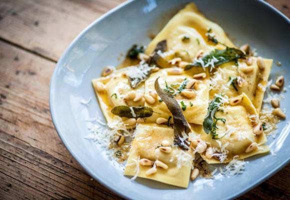 Dominic Chapman's Turkey & Butternut Squash Ravioli