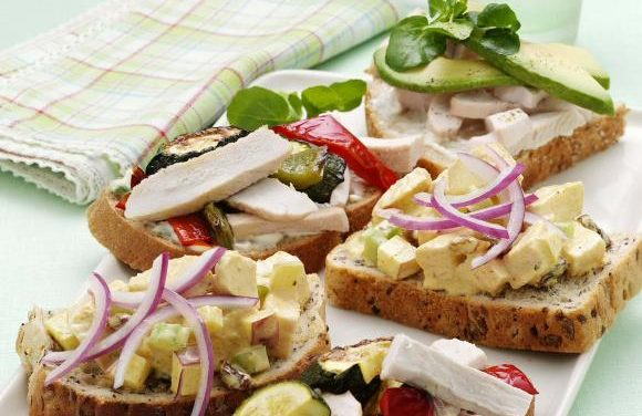 3x Open Turkey Sandwich Ideas