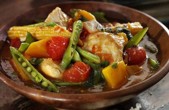 Moroccan Turkey & Harissa Stew