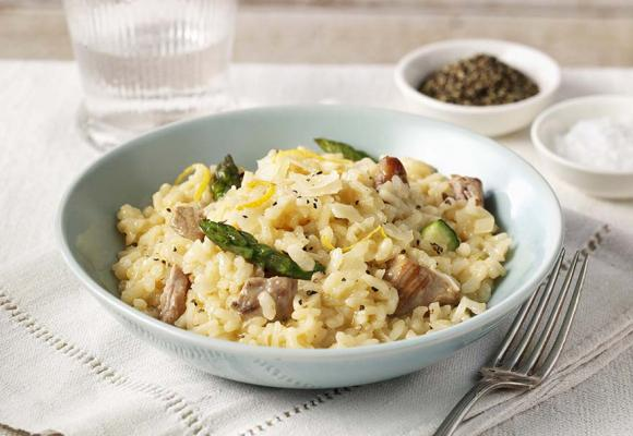Oven Baked Turkey Risotto