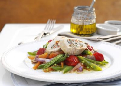 Turkey & Peppadew Pepper Rolls