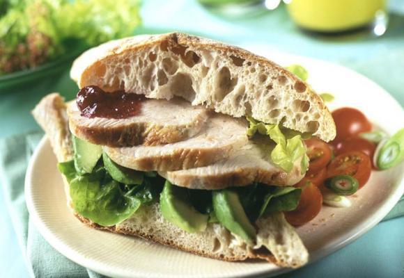 British Turkey & Avocado Ciabatta Sandwich