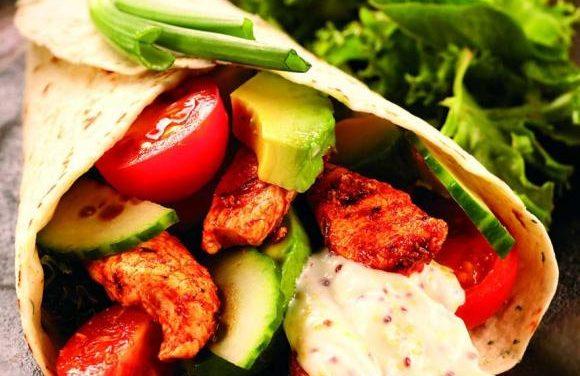 British Turkey & Avocado Wraps