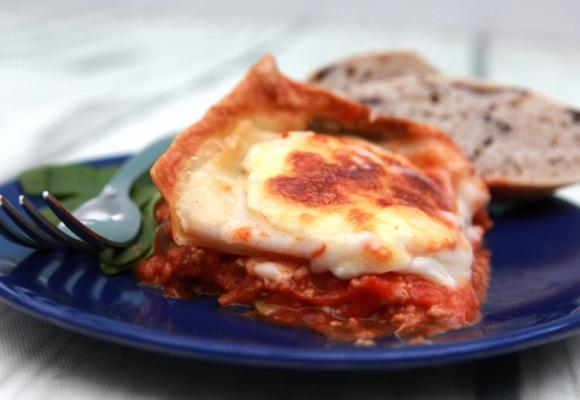 Really Easy Turkey & Spinach Lasagne