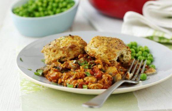 Really Easy Turkey Mince Hotpot With Mushrooms